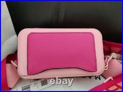Genuine MARC JACOBS Snapshot Small Camera Bag PINK ROSE hot sales