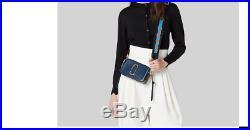Genuine Marc Jacobs Snapshot Small Camera Bag Crossbody sea blue sales