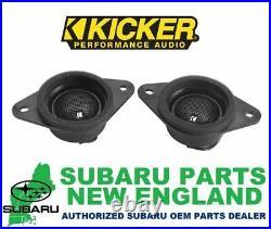 Genuine OEM Subaru Tweeter Upgrade Kit by KICKER H631SFJ101 1 DAY SALE