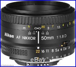 Give Away Deal Sale 50mm 1.8 D Nikon 50 mm f/1.8D Af Nikkor Lens 2137 Retail