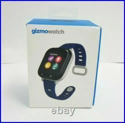 Gizmowatch Gizmo Watch Smartwatch Verizon Wireless Black With Blue Band SALE