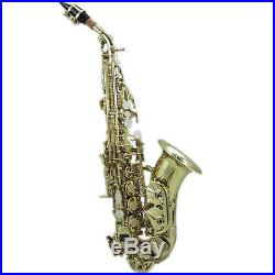 HOLIDAY SALE Curved Soprano Saxophone w Case GREAT GIFT