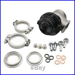 HOT SALE New 2X 38mm Black Wastegate with V-Band and Flanges for Tial MV-S