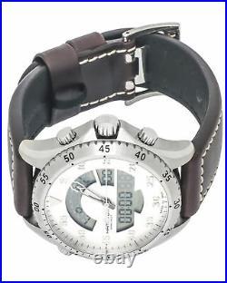 Hamilton Khaki Pilot Flight Timer Quartz Men's Watch H64514551! SALE