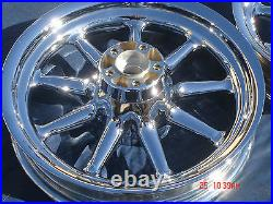 Harley Chrome 9 Spoke Wheels Street Glide Electra Glide Touring Outright Sale