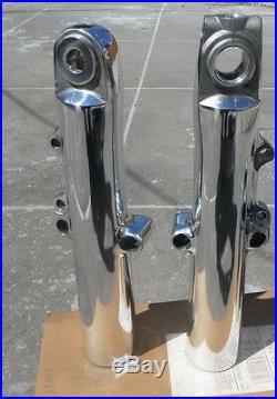Harley lower legs front forks sliders FLH/FLT FLHR/FLHRI POLISHED 2014-2018 SALE