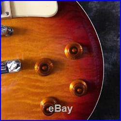 Hot Sale Quality 1959 R9 LP Standard Electric Guitar Cherry Burst Vintage Guitar