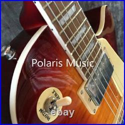 Hot Sale Quality 1959 R9 LP Standard Electric Guitar Cherry Burst Vintage Guitar