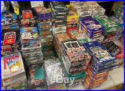 Huge Lot Of 1000 Baseball Cards Dads Collection Liquidation Fire Sale! Free Sh