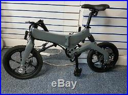 IWat Motion Electric Adults Folding Bike. Brand New Pedal Assist Electric SALE