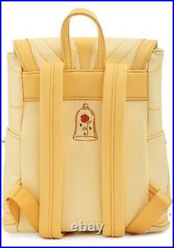 LOUNGEFLY X Disney Beauty And The Beast Belle Cosplay Mini Backpack- SALE