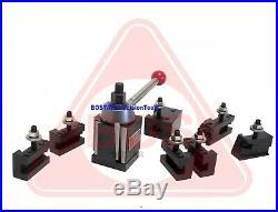 Labor Day Sale, BOSTAR BXA Wedge Set For Lathe10-15 + 2 Extra Oversize Holders