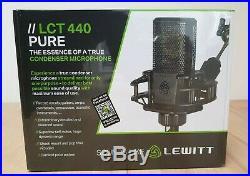 Lewitt LCT 440 PURE Condenser Studio Microphone Brand New Best price SALE