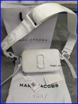 MARC JACOBS Snapshot Small Camera Bag DTM moon white Brand new hot sales