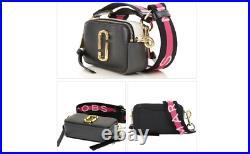 MARC JACOBS Snapshot Small Camera Bag black multi Brand new hot sales