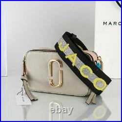 MARC JACOBS Snapshot Small Camera Bag dust multi Brand new hot sales