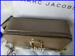 MARC JACOBS Snapshot Small Camera Bag french grey multi Brand new hot sales