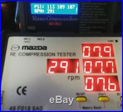 MAZDA Rotary Engine Compression Tester Rx7 Rx8 12a 13b 20b SALE! YELLOW LCD