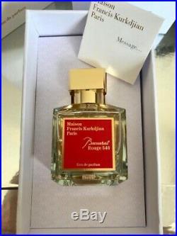 Maison Francis Kurkdjian Baccarat Rouge 540 Eau de Parfum 70 ml / 2.4fl. Oz. SALE