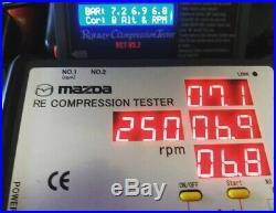 Mazda Rotary Engine Compression Tester Rx7 Rx8 13B 12A 20B SALE! Blue LCD