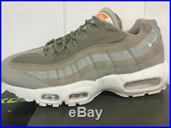 Mens Nike Air Max 95 OG Grey White Trainers Brand New Boxed End Of Line Sale