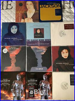 Michael Jackson collection 12 vinyls for sale brand new condition