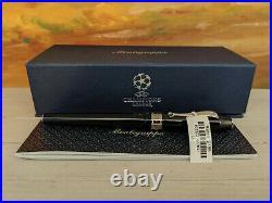 Montegrappa UEFA Champions League UCL Trophy Black M Fountain Pen, SALE 45% OFF