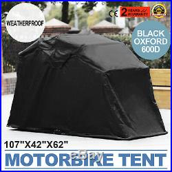 Motorcycle Cover Rain Waterproof Shelter Tent Speedway Garage Portable ON SALE