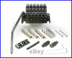 NEW Floyd Rose Special Locking TREMOLO Bridge & R2 Nut Electric Black OEM SALE