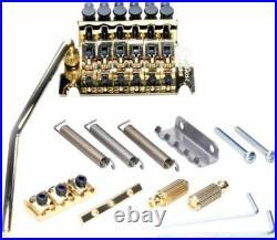 NEW Floyd Rose Special Locking TREMOLO Bridge & R3 Nut Electric Gold OEM SALE