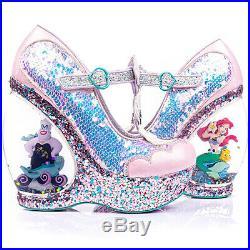 NEW Irregular Choice X Disney Little Mermaid Make a Splash Platform Wedge SALE