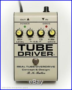 NEW TUBE DRIVER withBIAS CV Relief Sale $100 OFF BK BUTLER The Original