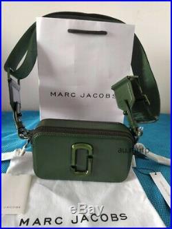 NWT Genuine Marc Jacobs Snapshot Small Camera Bag Crossbody OLIVE sales