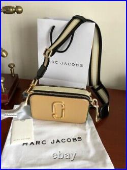 NWT MARC JACOBS Snapshot Small Camera Bag SANDCASTLE MULTI bag sales