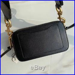 NWT Marc Jacobs Snapshot Small Camera Bag Crossbody BLACK/CHIANTI sales