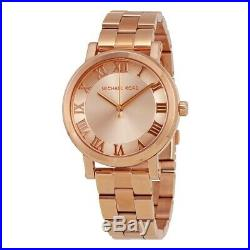 New Brand New Michael Kors Ladies Norie Rose Gold Watch MK3561 SALE PRICE