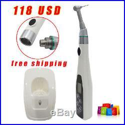 New Dental Lab Endo Motor Endodontics Cordless 161 Contra Angle Handpiece Sale