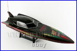 New Sale Kids Large Remote Control Rc High Speed Boat For Racing Rtr Fast! Toy