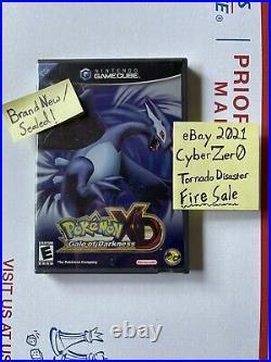 New sealed Pokémon XD Gale of Darkness Gamecube FIRE SALE Newnan tornado pokemon