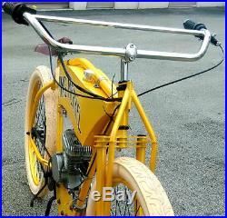 ON SALE Flying Merkel Board track racer replica kit antique motorized cafe bike