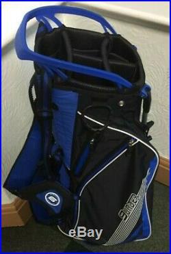 OUUL 9 Under Stand Bag Super-Lite Blue/Black/White Brand New 60% Off Sale