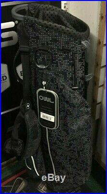 OUUL Air Light X Trendy Stand Bag Super-Lite Black/Matrix Grey Brand New Sale