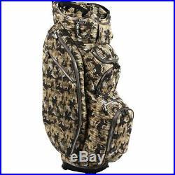 OUUL Camo Trendy Cart Bag 15 way Divider Top Desert Camo Brand New Sale