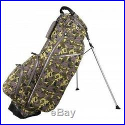 OUUL Camo Trendy Stand Bag 5 way Divider Top Frog Camo Brand New 65% Off Sale