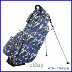 OUUL Camo Trendy Stand Bag 5 way Divider Top Ocean Blue Camo Brand New Sale