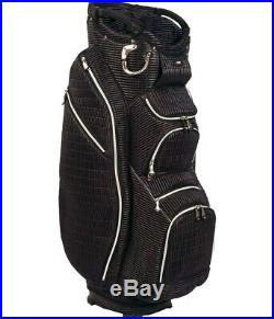 OUUL Ribbed Cart Bag 15 way Divider Top in Black Brand New 65% Off Sale