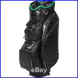 OUUL Stirling Cart Bag 15 way Divider Top in Black Brand New 65% Off Sale