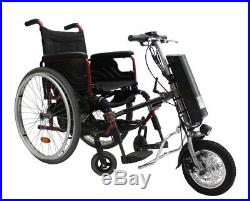 On sale 36V250W e-Wheelchair Tractor Attachment Handcycle Kit+36V 9AH