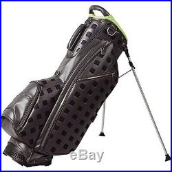 Ouul Stirling Stand Bag 5 way Divider Top Dark Grey Brand New 65% Off Sale
