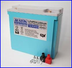 PRESIDENTS DAY SALES LiFePO4 12.8-Volt 20Ah Lithium Iron Phosphate Battery